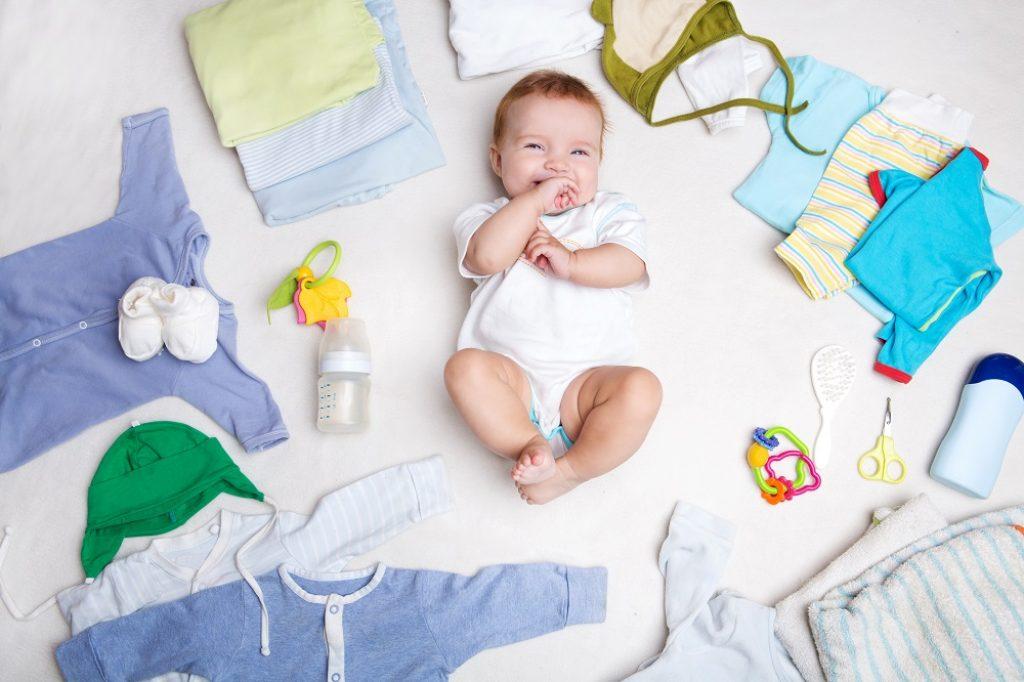 การเลือกเสื้อผ้าเด็กอ่อน มีวิธีเลือกอย่างไร