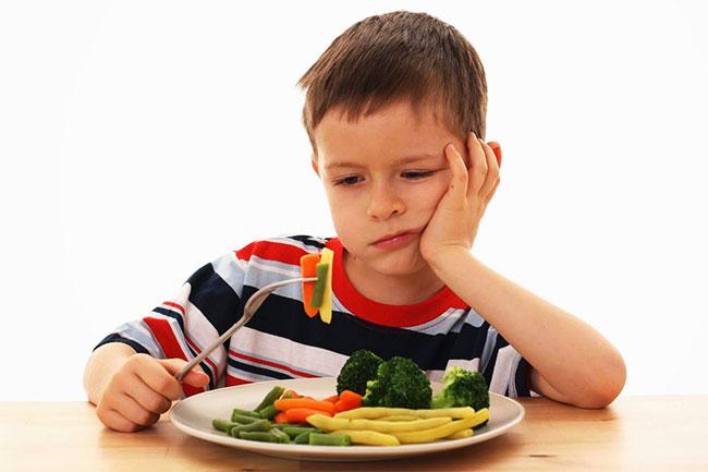 ปัญหาในเรื่องของลูกไม่ยอมทานผัก