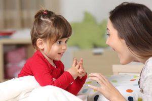 การพูดของเด็ก