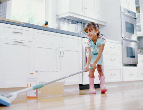 สอนลูกทำงานบ้าน ด้วยวิธีการง่าย ๆ