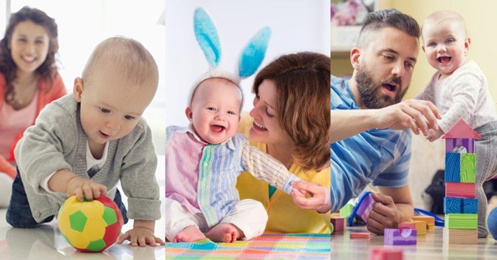 เหตุผลที่พ่อแม่ควรเล่นกับลูก  เพื่อเสริมสร้างพัฒนาการของที่ดี