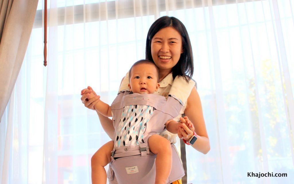วิธีเลี้ยงลูกและทำงานบ้านได้ ด้วยใช้เป้ช่วยอุ้มและทำงานบ้าน