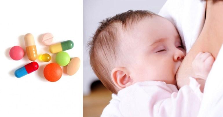 ยาปฏิชีวนะ กับ แม่ให้นมบุตร