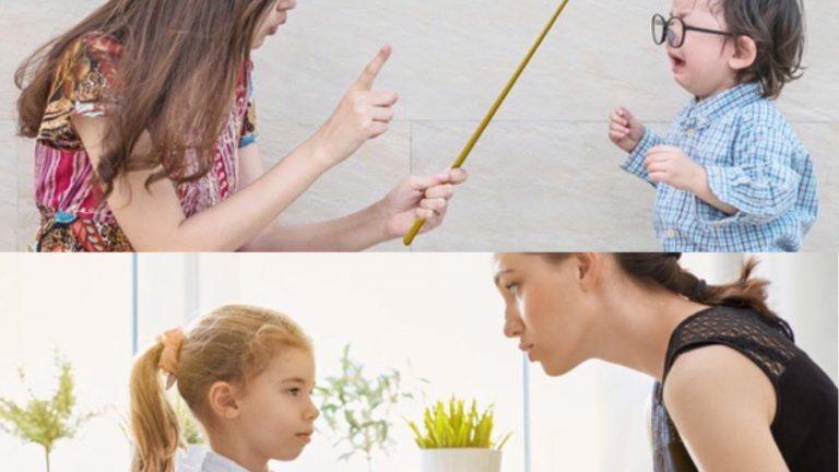 คิดให้ดีว่าจะเลือก วิธีลงโทษลูก ด้วยการตี หรือ ใช้วิธีสอนลูก เมื่อลูกทำผิด